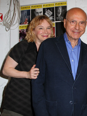 Amelia Campbell and Alan Arkin