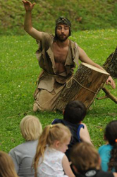 Jason Vance as Robinson Crusoe