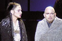 Patti LuPone and Michael Cerveris in Passion(Photo courtesy of Ravinia Festival)
