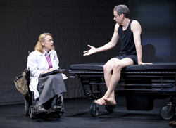 Patricia Wettig and Patrick BreeninThe Normal Heart