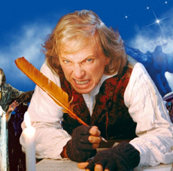 Tommy Steele in Scrooge