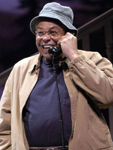 James Earl Jones in On Golden Pond (Photo  © Scott Suchman)
