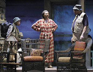 Alexander Mitchell, Leslie Uggams, and James Earl Jones in On Golden Pond