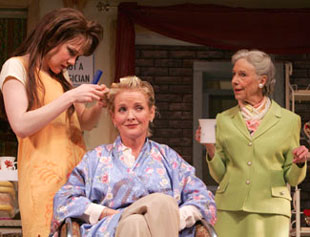 Lily Rabe, Christine Ebersole, and Frances Sternhagenin Steel Magnolias(Photo © Joan Marcus)