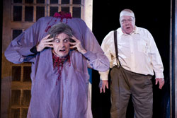 Jesse Merlin and George Wendt