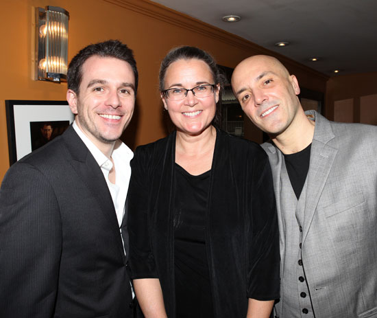 7th Monarch's assistant director Scott Evans, producer Wendy Macdonald, and director Scott C. Embler