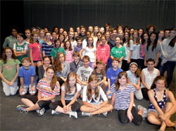The cast of Legally Blonde
