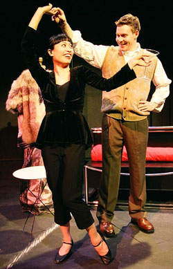 Rosanne Ma and Robert Wedig in China Doll