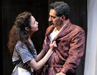 Francesca Vannucci and John Turturro in Souls of Naples