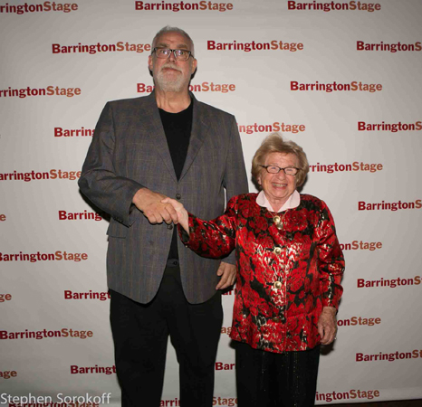 William Finn and Dr. Ruth Westheimer