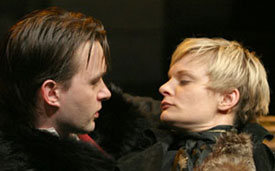 Jesse Pennington and Martha Plimptonin The False Servant(Photo © Dixie Sheridan)