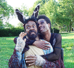 Brian Richardson and Karim Sekouin A Midsummer Night's Dream(© Justyn Richardson)