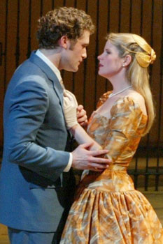 Matthew Morrison and Kelli O'Hara inThe Light in the Piazza(Photo © Joan Marcus)