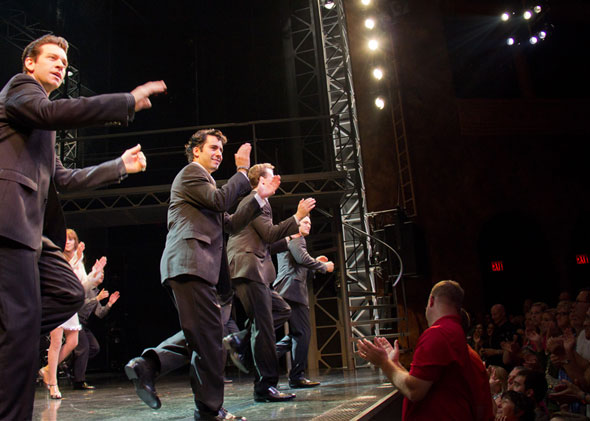 Photo flash john lloyd young returns to broadway s jersey boys