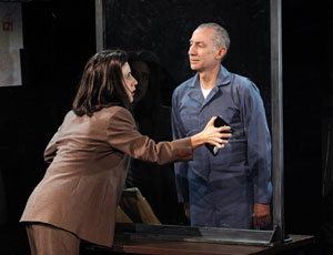 Jenn Harris and David Garrison