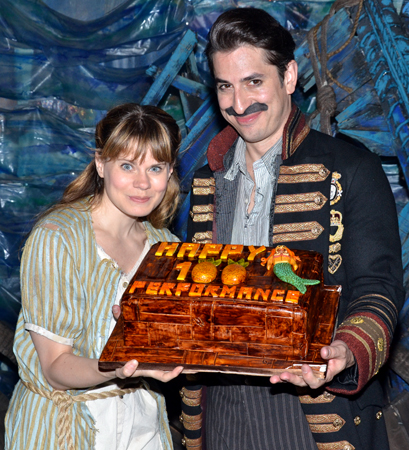 Celia Keenan-Bolger and Matthew Saldivar