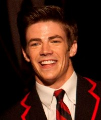 Grant Gustin in Glee