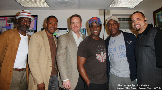 Delroy Lindo, Eriq La Salle, Robert Greenblatt, Blair Underwood, Danny Glover, Sinbad
