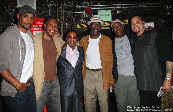 Boris Kodjoe, Eriq La Salle, Stephen Byrd, Delroy Lindo, Danny Glover, Sinbad
