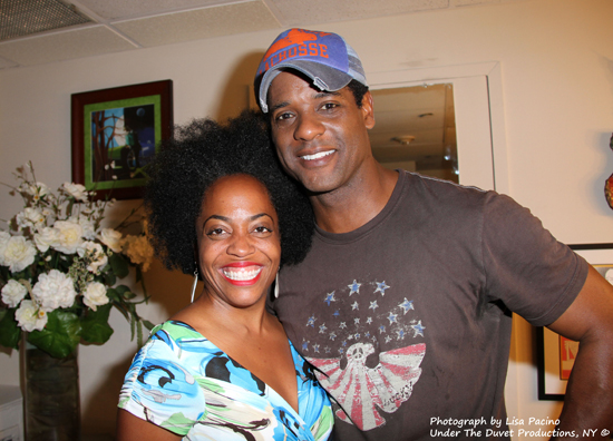 Rhonda Ross and Blair Underwood