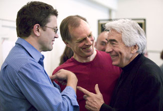 John Michael Higgins, Keith Carradine, and Gordon Davidson