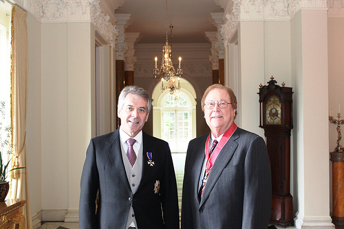 Dr. William Kelso and Robert Boyett