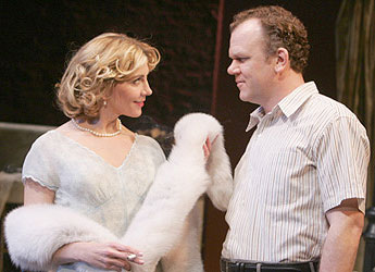 Natasha Richardson and John C. Reilly in A Streetcar Named Desire(Photo © Joan Marcus)