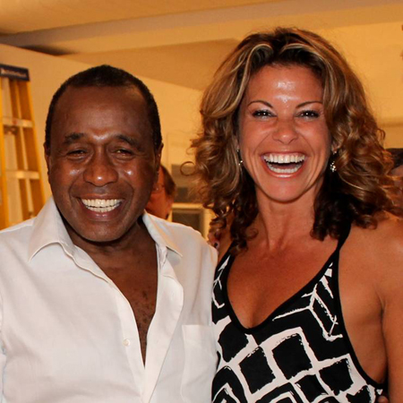 Ben Vereen and Rachelle Rak