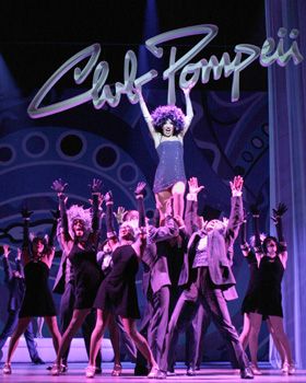The cast of Sweet Charity(Photo © Paul Kolnik)