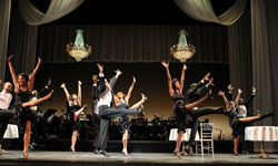 A scene from the 2011 engagement of Cotton Club Parade