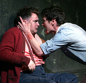 Billy Crudup with Michael Stuhlbarg in The Pillowman(Photo © Joan Marcus)