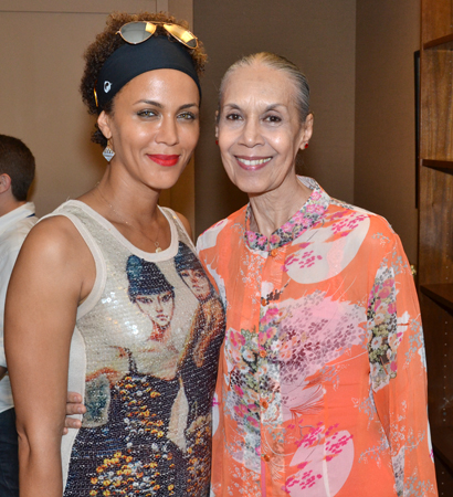 Nicole Ari Parker and Carmen De Lavallade