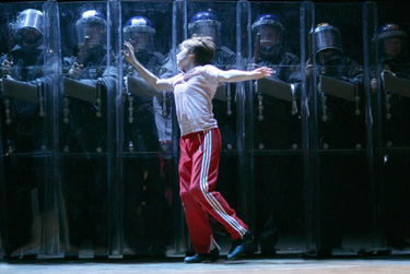 Liam Mower in Billy Elliot -- The Musical(Photo © David Scheinmann)