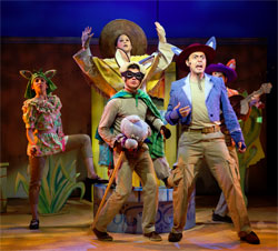 Austen Nash Boone (center) and company