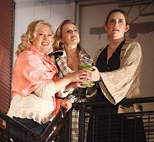 Sally Wilfert, Mamie Parris,