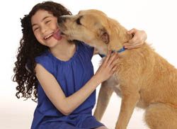 Lilla Crawford (Annie) and Sunny