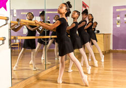 WIlliam E. Doar Jr. Public Charter School ballet class