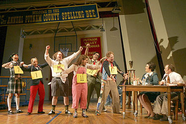 The cast of The 25th Annual Putnam County Spelling Bee(Photo © Joan Marcus)
