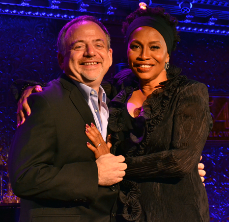 Marc Shaiman and Jenifer Lewis