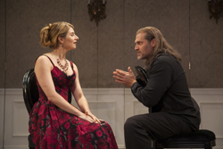 Nadia Bowers and Marc Kudisch