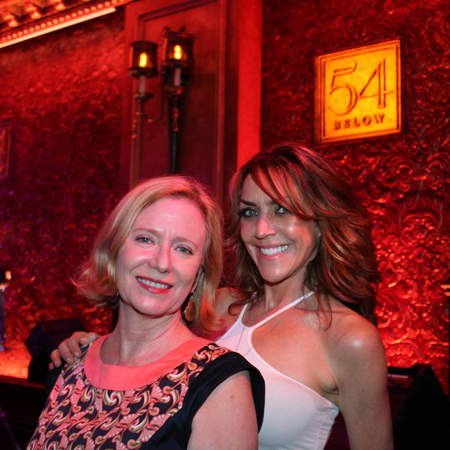 Eve Plumb and Andrea McArdle