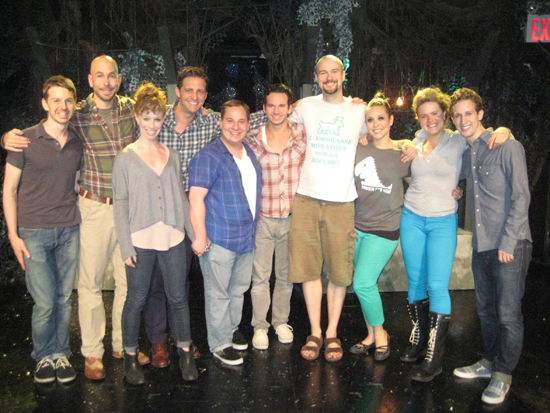 Jeremy Yaddow, Wade McCollum, Lindsay Nicole Chambers, Colin Hanlon, Jared Gertner, Brandon Espinoza, Lee Seymour, Shelley Thomas, Claire Neumann, and Alex Wyse