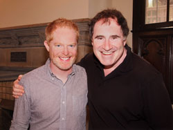 Jesse Tyler Ferguson and Richard Kind star in The Producers (© Ed Krieger)