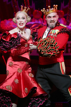 Jan Maxwell and Marc Kudisch inChitty Chitty Bang Bang(Photo © Joan Marcus)