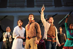 A scene from Zapata! The Musical