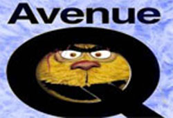 Avenue Q promotional logo