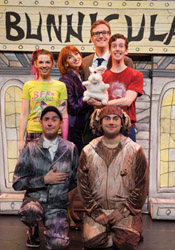 The National Touring cast of Bunnicula