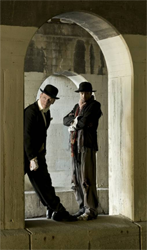 Jim Lichtscheidl and Nathan Keepers in Waiting for Godot