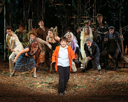 The cast of Into The Woods