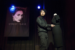 Roy Cruz performing The Devil Wears Prada in Streep Tease